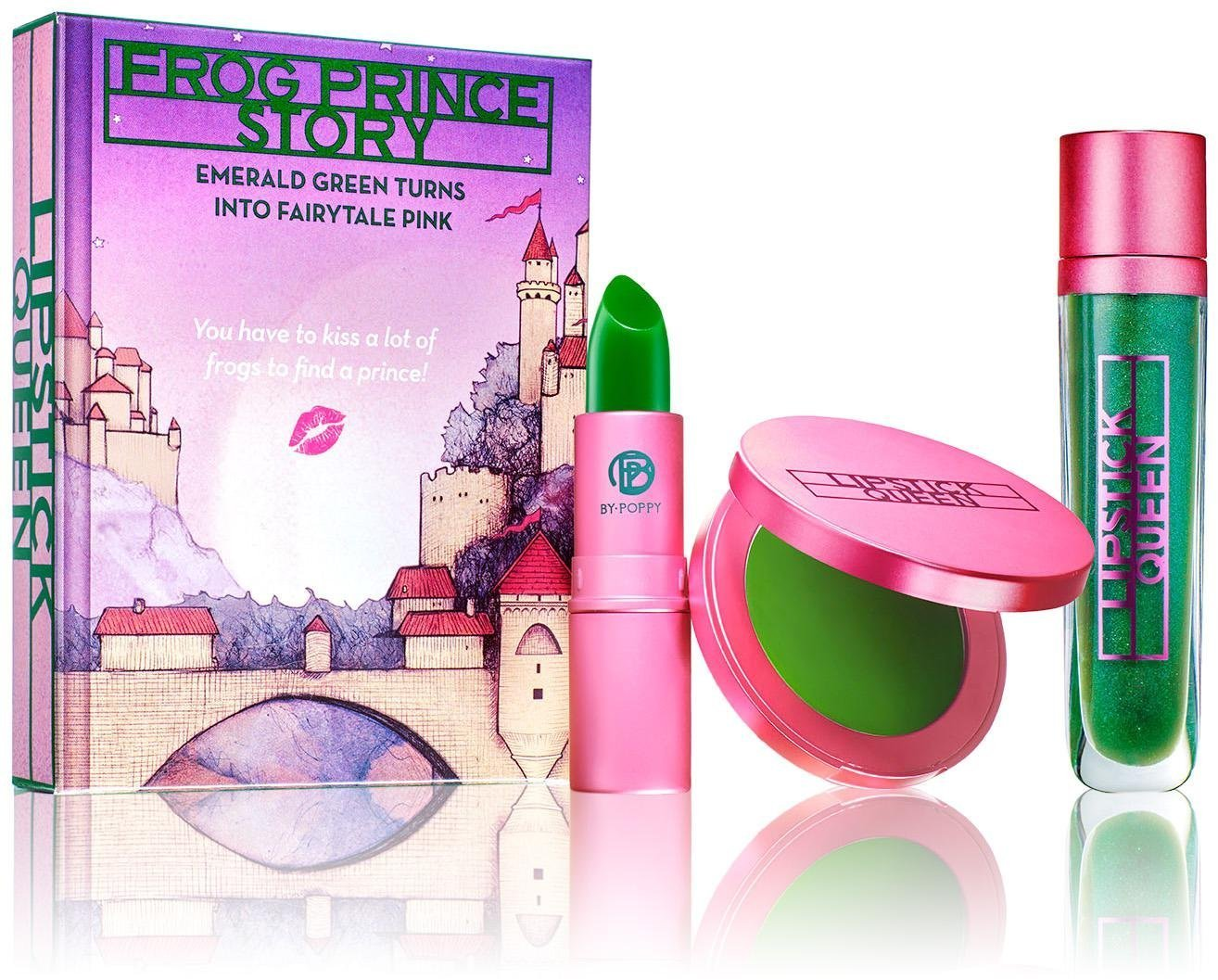 Lipstick Queen Frog Prince Story Trio