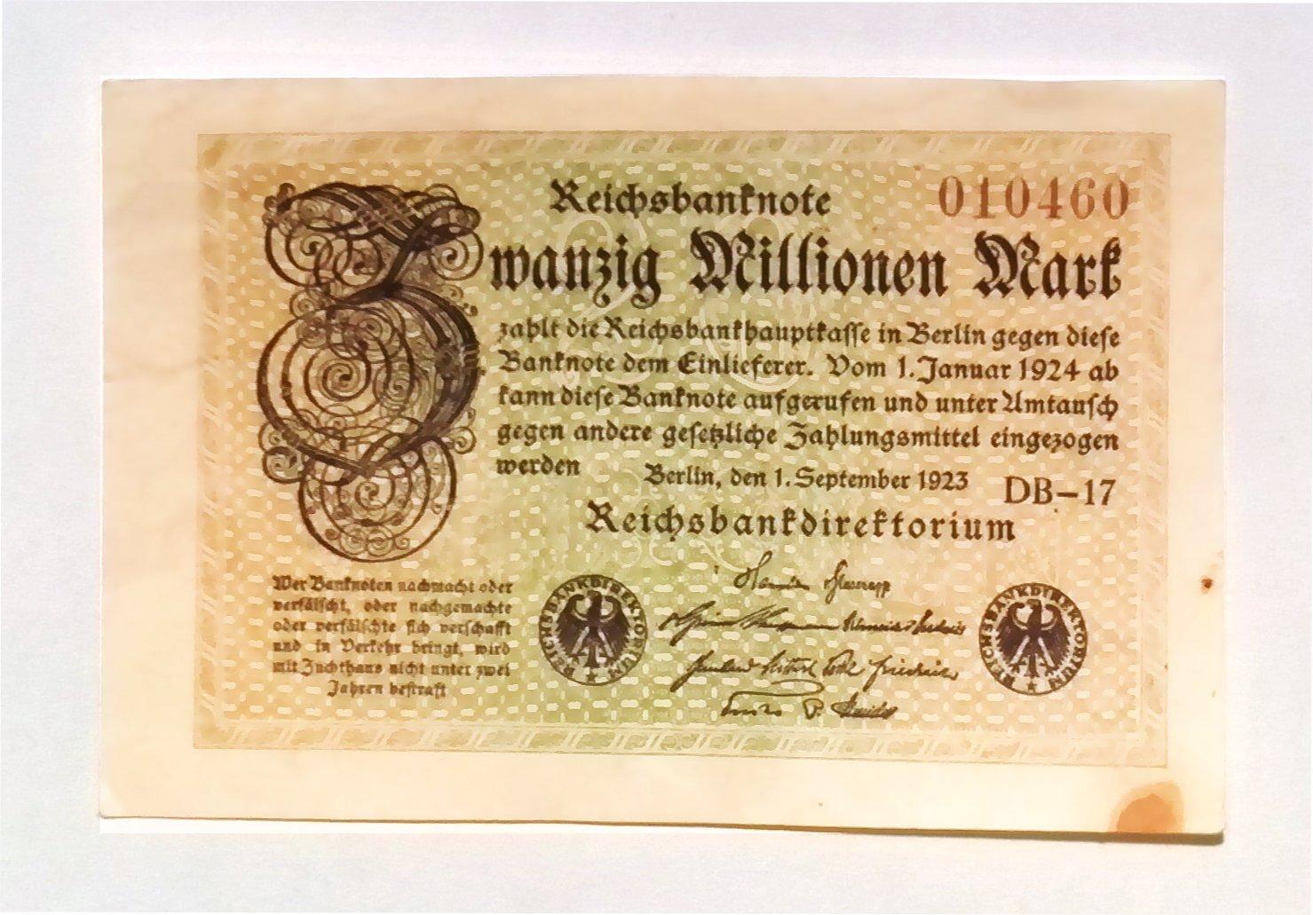 Amazon.com: 1923 Alemania Hyper inflación juego completo de ...