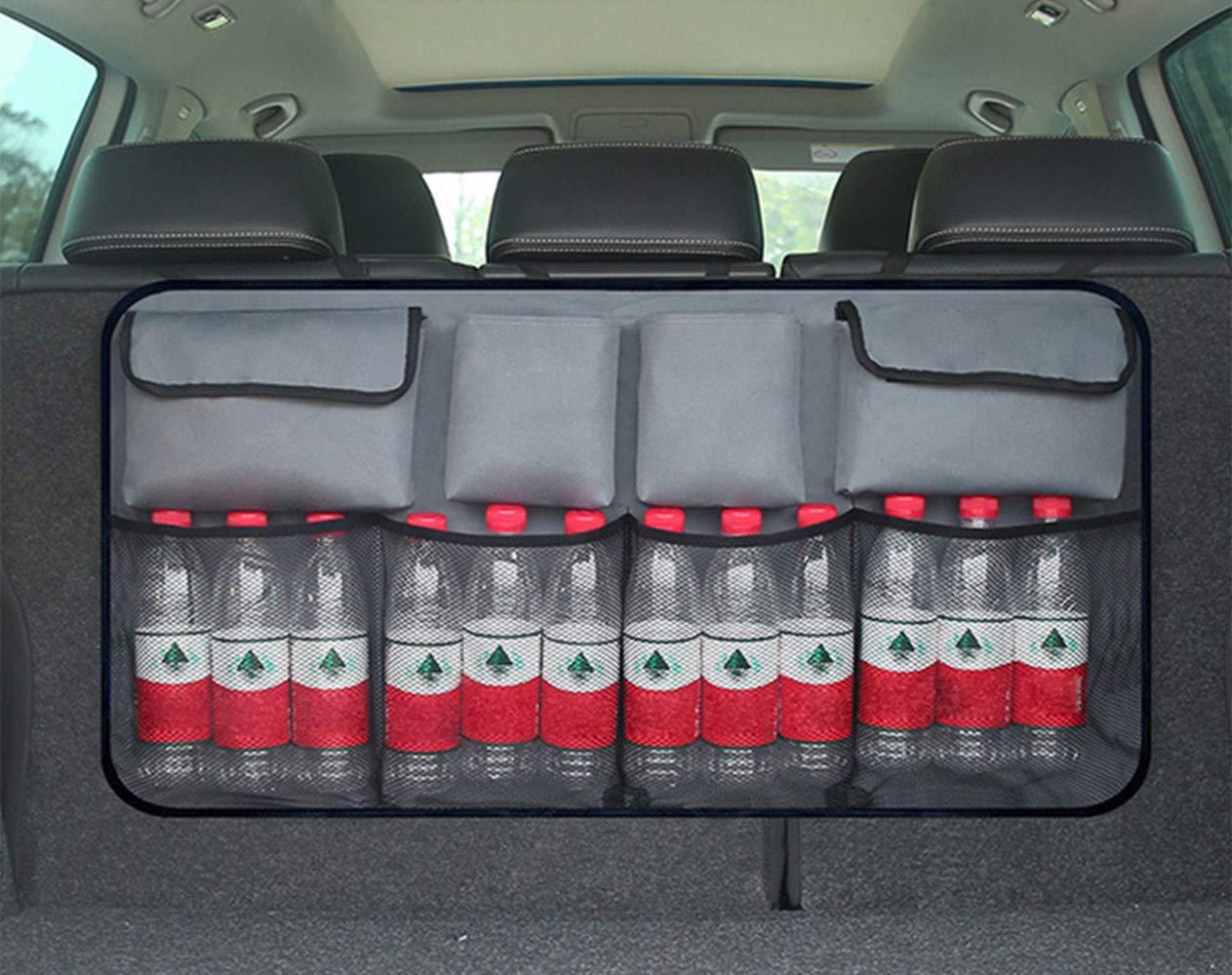 Dunkelblau Kofferraum R/ücksitz Aufbewahrungsbeutel der faltende Taschen aufr/äumt