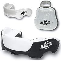 ¡Protector bucal Martial Premium para una respiración Ideal! Protector bucal Perfectamente Ajustable con Caja de…