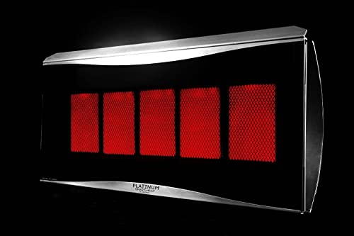 Bromic Heating BR-DEFPLA5 500 Series Platinum Heat Deflector, Stainless Steel