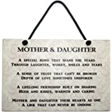 Maise & Rose Mother and Daughter Gift Handmade Wooden Home Sign/Plaque 172