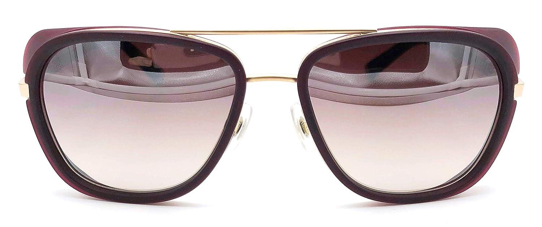 07d5d6c4d6230 Amazon.com  Matsuda M3023 Iron Man 3 Tony Stark Sunglasses in Burgundy  (smaller size)  Clothing