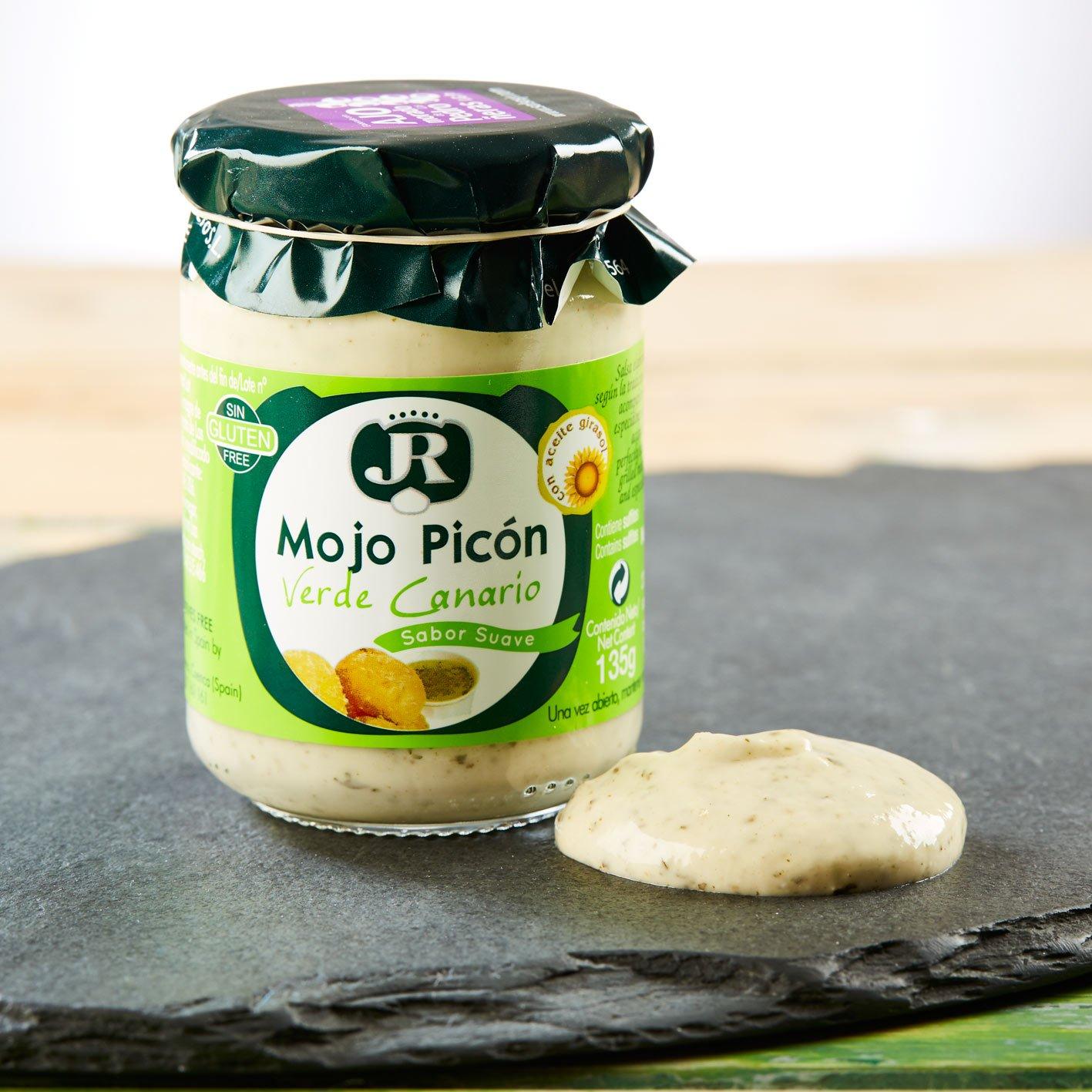 Mojo Picón Verde Canario Jr Tarro 135 G: Amazon.es: Alimentación y bebidas