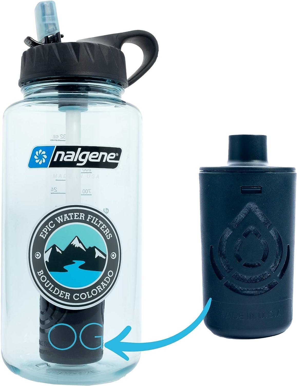Epic Nalgene OG - Water Bottle with Filter