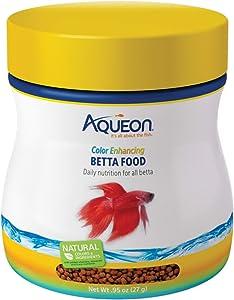 Aqueon Color Enhancing Betta Food.95 Ounces