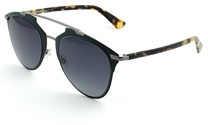 24d3cd8179ab Image Unavailable. Image not available for. Color  Dior Reflected S Matte  Gray Light Havana Frame  Brown ...