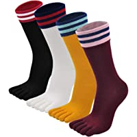 PUTUO Calcetines de Dedos Mujer Calcetines Cinco Dedos de Deporte, Mujer Calcetines del Dedo del Pie, Calcetines de…