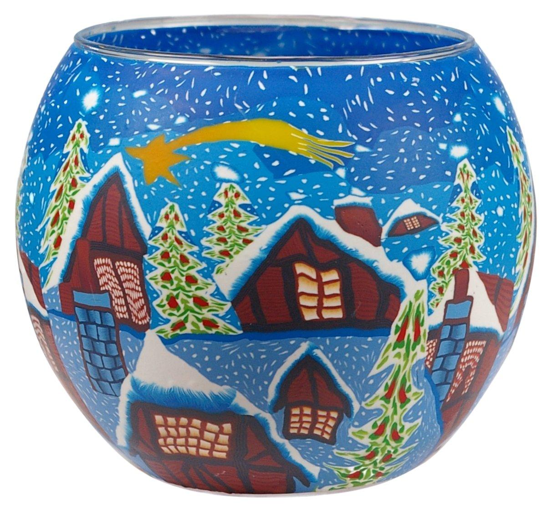 Him POLARBEARS Tea Light Holder 11x11x9 cm Multicolour