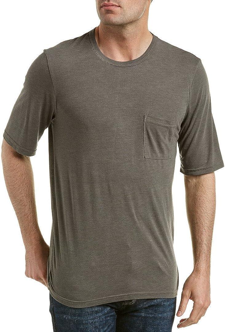 Michael Stars Mens Short Sleeve Bamboo Jersey Crew-Neck T-Shirt