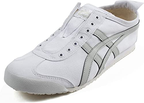 onitsuka tiger mexico 66 slip on black and white ladies boots