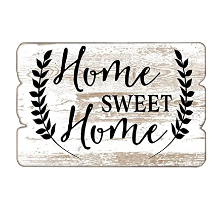 Amazon Com Mode Home 11 81 X15 75 Decorative Wooden Wall Hanging