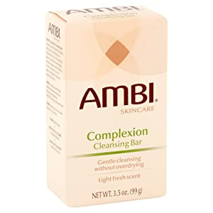 Ambi Cleansing Bar Soap Complextion 3.5oz (2 Pack)