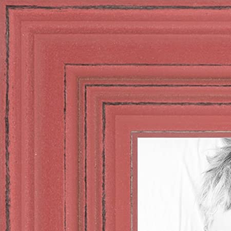 Arttoframes 11x17 Inch Shabby Chic 1 5 Inch Merlot Red Wood Picture Frame Womsm Scb Mrd 11x17 Amazon Co Uk Kitchen Home