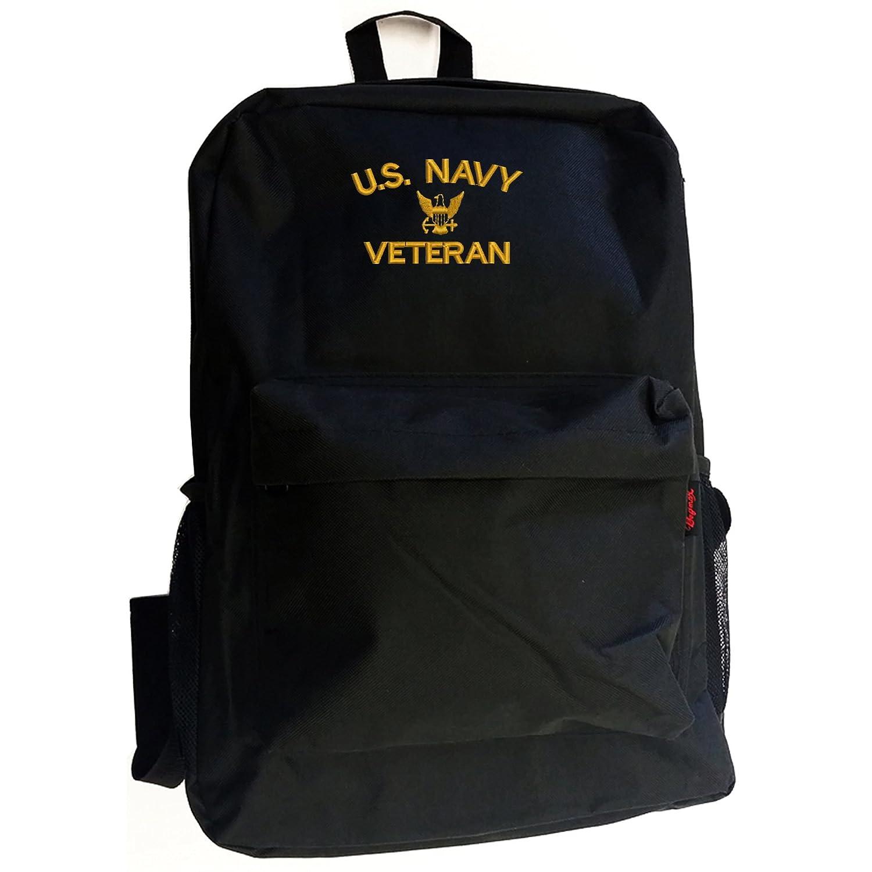 米国海軍退役軍人ミリタリーバックパックバッグネイビー   B07DMY2RRR