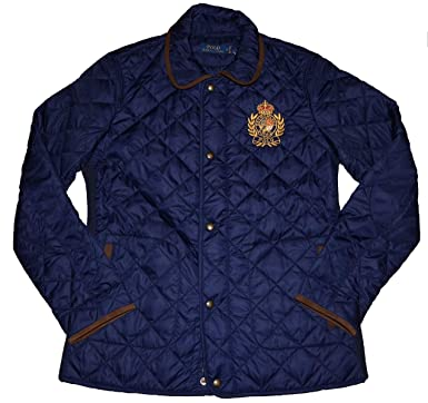 aa5aab109 Image Unavailable. Image not available for. Color  Ralph Lauren Womens Quilted  Jacket ...