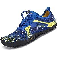 SAGUARO Barefoot Niño Niña Zapatillas de Trail Running Minimalistas Antideslizante