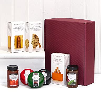 The Three Cheese Board Gift Hamper