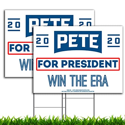 Amazon.com: VIBE INK Pete Buttigieg 2020 - Cartel de campaña ...