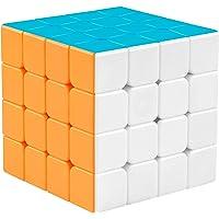Popsugar 4x4 Stickerless High Speed Magic Cube for Kids, Multicolor