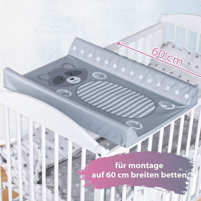 LULANDO Estera impermeable para beb/é muy vers/átil Con el est/ándar 100 de /Öko-Tex. 50 x 70 cm Pr/áctico cambiador de pa/ñales para cama de viaje