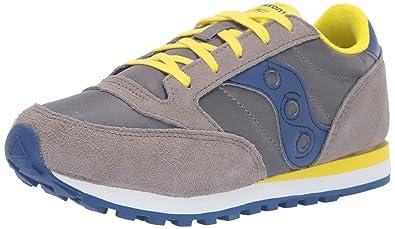 75dfd834c900 Saucony Boys  Jazz Original Sneaker Grey Blue 060 Medium US Big Kid