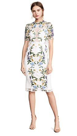 66531bddf85 THURLEY Women s Vasette Lace Midi Dress