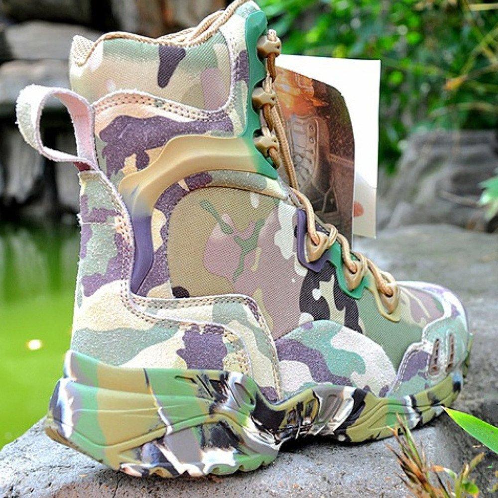Nihiug Wanderschuhe Herren Wasserdichte Leichte High-Top-Trekking-Schuhe Non Slip Slip Non Tactical Desert Stiefel Militärstiefel 27f7be