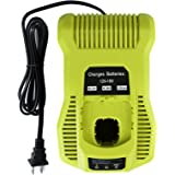 FLAGPOWER P117 Dual Chemistry IntelliPort Lithium Ion & Ni-cad Ni-Mh Battery Charger 12V-18V MAX For Ryobi ONE+ Plus