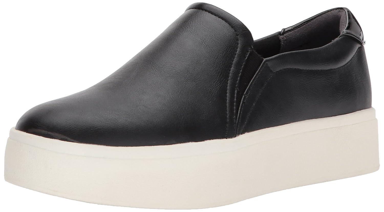 Dr. Scholl's Shoes Women's Kinney Fashion Sneaker B06Y1JDCTD 8 B(M) US Black/Metallic
