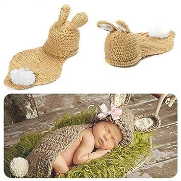Baby Kostüm Strickkostüm Fotoshooting Babyfotos Ostern Bunny Hase