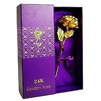 Deals on LoveInUSA 24K Golden Rose