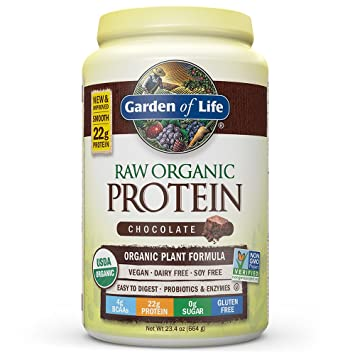 Amazoncom Garden of Life Organic Vegan Protein Powder with