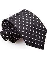 DQT Premium Woven Microfibre Polka Dot Patterned Men's Fashion Casual Business Classic Standard Regular 9cm Tie Necktie Various Colours