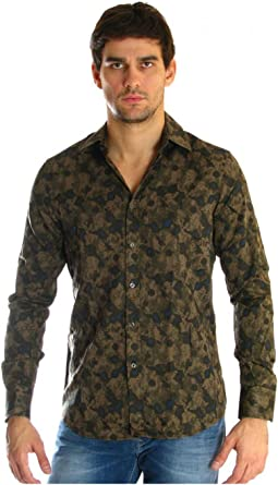 By marciano 24m421 camisa guess, color caqui verde Large ...