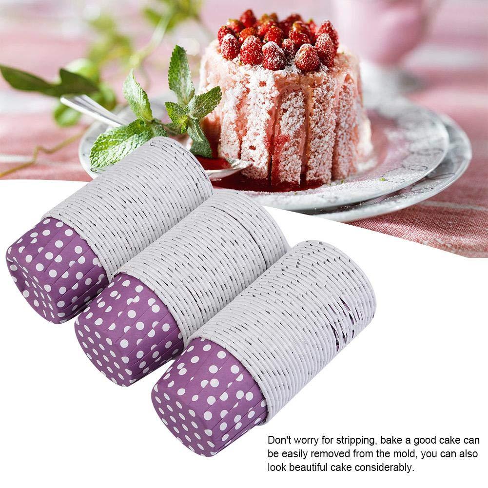 vacaciones 100 tazas para cupcakes bodas tazas para hornear papel forros para cupcakes B para el hogar moldes para hornear taza redonda para pasteles 5 x 3,2 cm