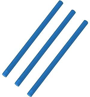 EXPLORER Poolnudel Schwimmnudel 160x7 cm aus PU-Schaum 2 St/ück, Blau