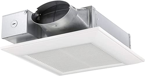 Lift Bridge Kitchen Bath DSQR110BN Exhaust Bath Fan, Brushed Nickel