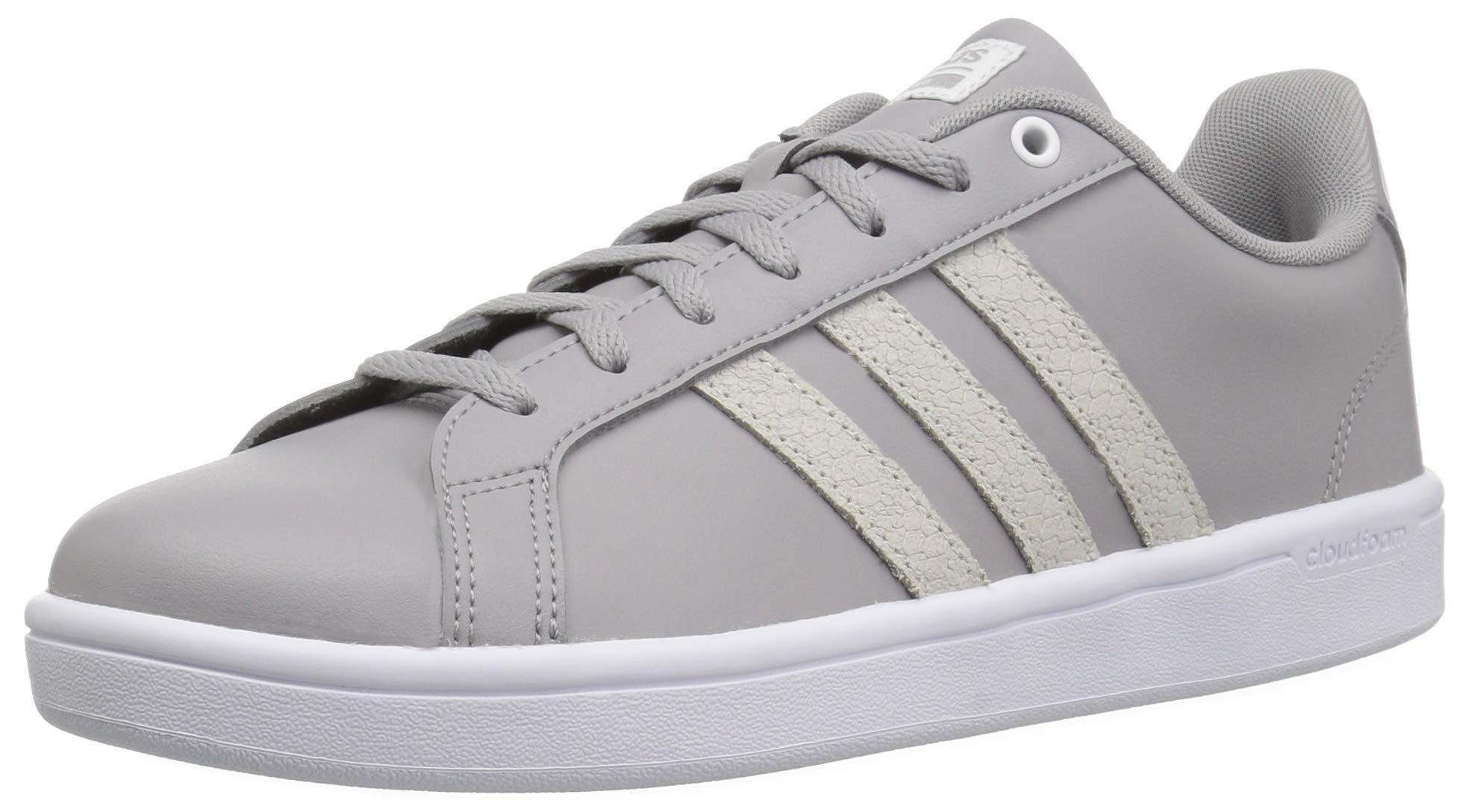 adidas Women's Cf Advantage Sneaker White/Light Granite, 5 M US