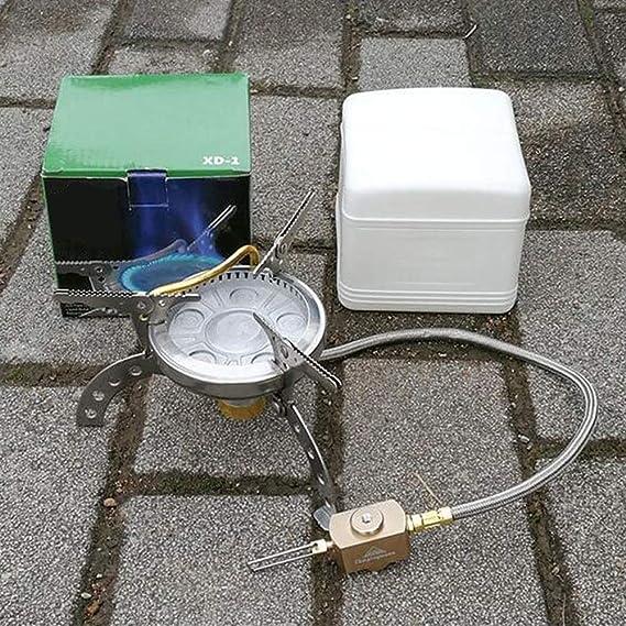 LYY Mini Horno Alpino, Estufa de Gas a Prueba de Viento para ...