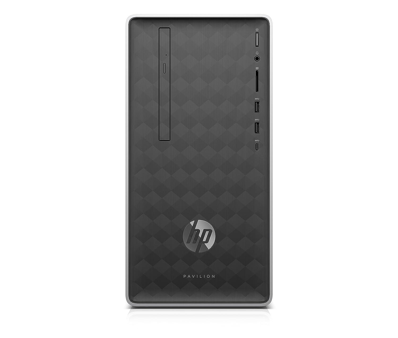 HP Pavilion 590-p0508ng 3,5 GHz AMD Ryzen 3 2200G Plata Mini Tower PC - Ordenador de sobremesa (3,5 GHz, AMD Ryzen 3, 8 GB, 256 GB, DVD±RW, Windows 10 Home)
