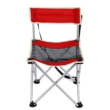 : OUTAD Silla de camping, silla plegable de picnic