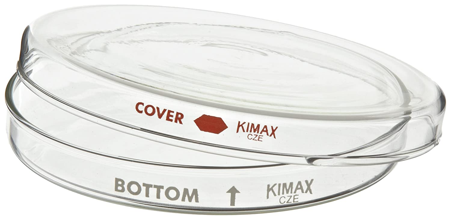 Kimax 23060-15020 Borosilicate Glass Petri Dishes Complete Set Pack of 12 150mm x 20mm