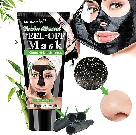 maschera viso uomo punti neri