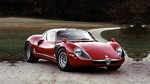 Lilarama USA 1968-Alfa-Romeo-Tipo-33-Stradale-V1- - Super Car Classic Car - Giant Poster Print - Cool Wall Decor Art Print Poster