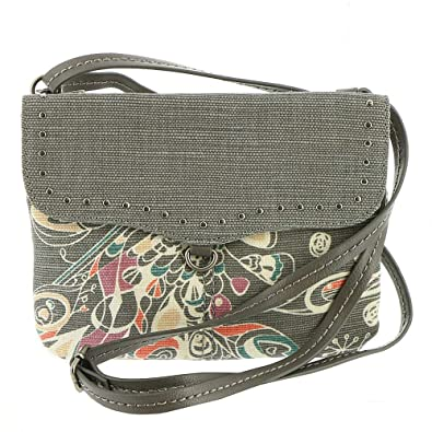 833f260c034955 Image Unavailable. Image not available for. Color: Sakroots Austen Double  Gusset Crossbody ...