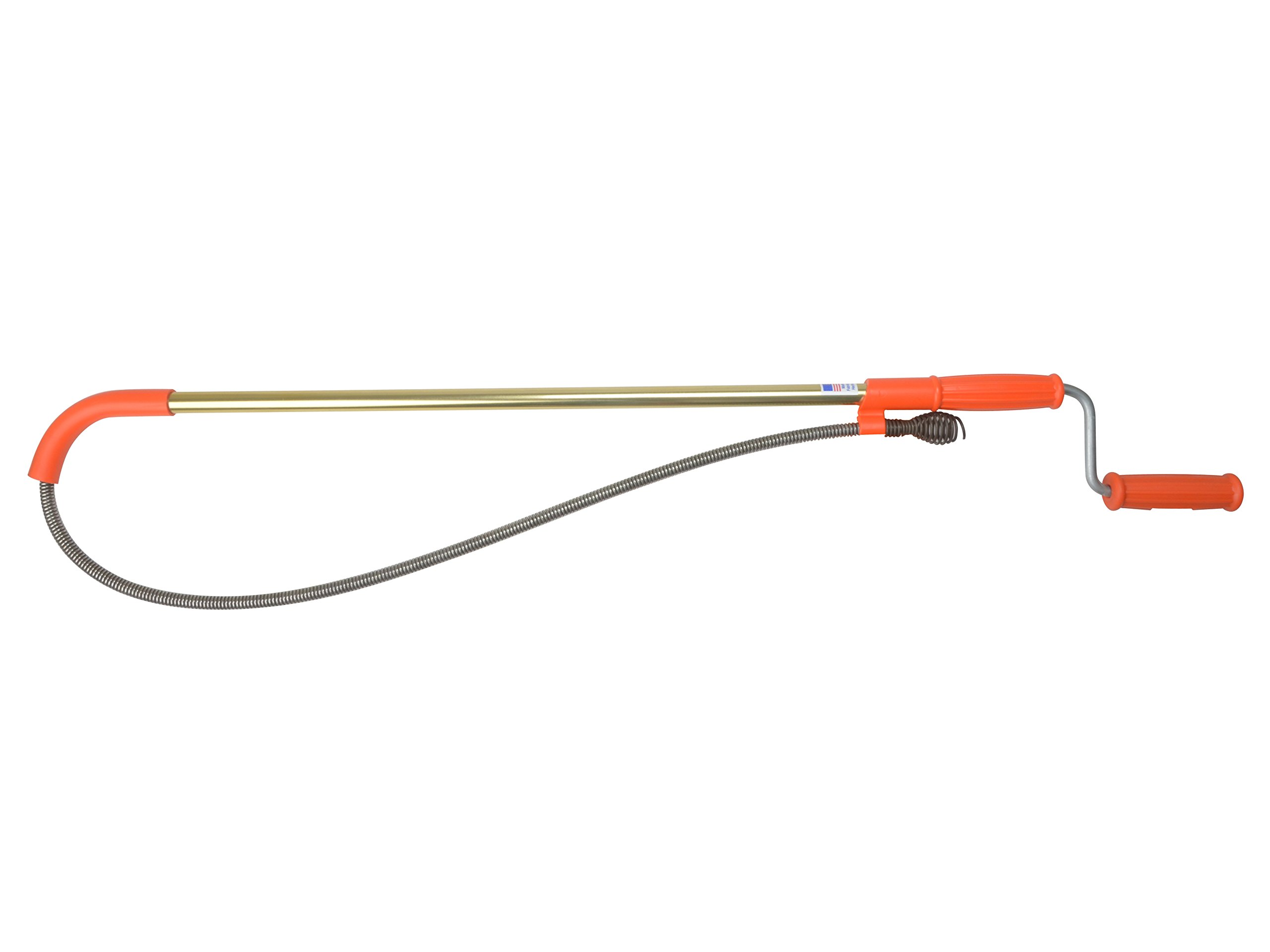 General Pipe Cleaners T6FL-DH Teletube Toilet Auger with Down Head