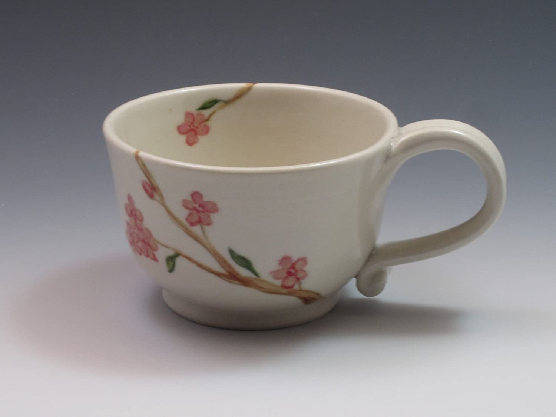 Porcelain Cherry Blossom teacup