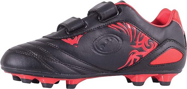 Black//Fluro Yellow Optimum Unisex Senior Razor Rugby Boots 7 with Optimum Mens Classico Sports Socks 7-11 Senior Yellow