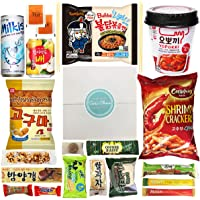 """Journey of Asia """"Seri's Choice KOREAN Snack"""" Box 20 Count Individual Wrapped Packs of Coffee, Snacks, Chips, Cookies…"""